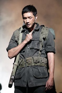 Ji Hyun Woo 지현우  Army musical 'The Promise'