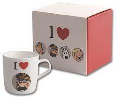 Mug I love Haddock + boîte - L'heure du thé - PAPETERIE, CADEAUX - Renaud-Bray.com - Ma librairie coup de coeur