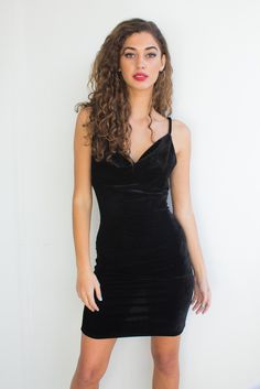The Tory velour dress features a glossy velour texture and a body-con shape. Has a vintage-inspired slouchy neckline and a slit centered on the back.  http://modlook29.com/collections/dresses/products/tory-velour-dress