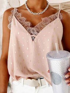 Camisole Top, Tank Tops, Shopping, Women, Fashion, Blouses, Moda, Halter Tops