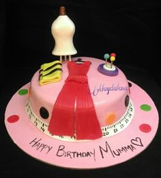 Fashion Designer Theme Cake for online order visit our website delivery available in Mumbai www.Magdalenacupcakes.com
