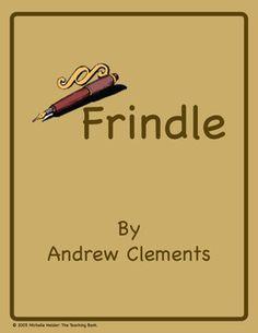 Frindle Novel Unit Aligned with Common Core Standards!