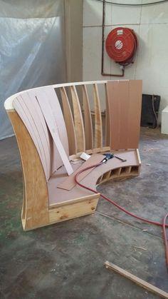 Sofa for commercial seating solution, Namibia #designstudio #seatingsolution #frankbohmstudio