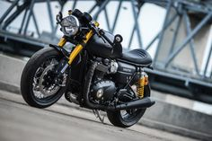 "reactualization: "" Darkster: K-Speed's Custom Triumph Thruxton R """