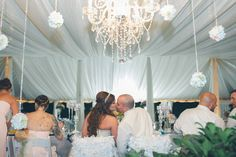 One of my favorite photos from our wedding. Love the chandelier and drapes! http://anikoproductions.zenfolio.com/jeanne-rob-wedding