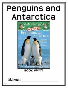 Magic Tree House Fact Tracker: Penguins and Antarctica (Osborne) Book Study * Follows Common Core Standards *  Magic Tree House Fact Tracker: Penguins and Antarctica Book Study  This 29-page Book Study walks student though the Magic Tree House Fact Tracker. Students will be taking notes, answering open-ended questions, summarizing, visualizing, drawing pictures, and using the cloze method. Students will be practicing a variety of reading comprehension skills and strategies.