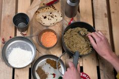 Hati's Stovetop Dahl (with Chapatis!): Campsite envy guaranteed with this super simple hearty veggie dish!