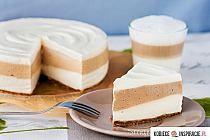 Cheesecake latte macchiato without baking Latte Macchiato, Cheesecake Recipes, Dessert Recipes, Sweet Pastries, Polish Recipes, Dessert For Dinner, Sweet Cakes, Saveur, Something Sweet