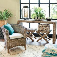 Adelaide Club Chair - beach house or screened porch