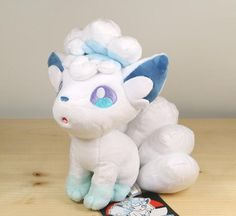 Pokemon Center 2016 Alola Vulpix Plushie - https://destinationcute.com - Your #1 destination for everything Cute & Kawaii