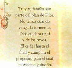 Dios tiene planes para ti.