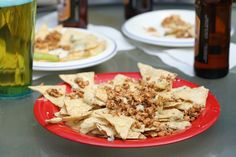 If You're Looking For One Game-Changing Nacho Recipe for Football Season, This is It http://www.cheeserank.com/education/buffalo-chicken-nachos-recipe-football-season/