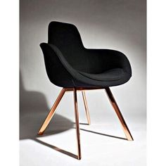 | Found my dream chair, not practical for the budget or young children though | Scoop High with Copper Legs | By Tom Dixon |