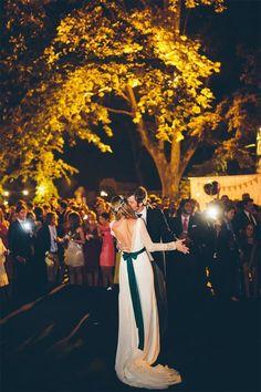 La boda de Cristina e Íñigo © Volvoreta