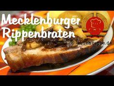 Mecklenburger Rippenbraten (von: erichserbe.de) - Essen in der DDR: Koch- und Backrezepte für ostdeutsche Gerichte | Erichs kulinarisches Erbe