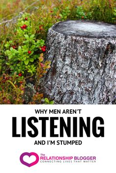 Why men aren't listening - and I'm stumped