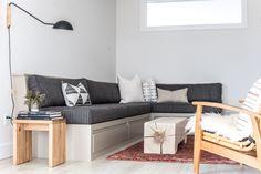 This Zen Maine Home Effortlessly Marries Wabi-Sabi and Scandinavian Design #SOdomino #room #interiordesign #furniture #property #table #livingroom #floor #couch #studiocouch #sofabed