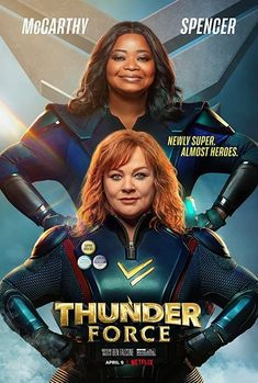 Thunder Force Netflix Movies, Comedy Movies, New Movies, Movies To Watch, Movies Online, Spiderman 2002, Corey Taylor, Melissa Mccarthy Movies, Force Movie