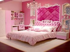 Princess Bed Room Established - http://www.dailyhomedecortips.com/home-decoration/princess-bed-room-established.html