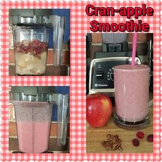 Cran-apple Smoothie  It's that time for apples and cranberries so I put them to use. :-) 1 cup coconut water  1/4 cup coconut milk yogurt  1 Tblsp pecan pieces  1 Tblsp raw oatmeal  2 tsp flax seeds  1/4 tsp orange peel powder  1 tsp agave  1 cup frozen apple slices (or fresh)  1/2  cup frozen cranberries (or fresh)  1/2 cup water  Blend in Vitamix and enjoy!  #Vitamix #vegan #healthy #plantbased #dairyfree #fruit #cranberries #apples #oatmeal #pecans #sodeliciousyogurt #so_delicious…
