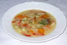 Zupa z białej rzodkwi