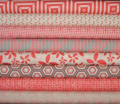 Fat Quarter Bundle of 8 from the Minimalista by SistersandQuilters, $22.00