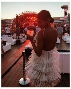 Sexy Backless Tassel Dress #tassel #dress #fringe #long Sexy Backless Tassel Dress – VisualDress Ibiza Outfits, Red Fashion, Look Fashion, Fashion Outfits, Ibiza Fashion, Nice Dresses, Flower Girl Dresses, Prom Dresses, Wedding Dresses