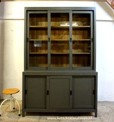 China Cabinet, Storage, Vintage, Furniture, Home Decor, Homemade Home Decor, Decoration Home, Larger, Home Furniture