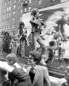 The Rolling Stones, 5th avenue NY, 1975