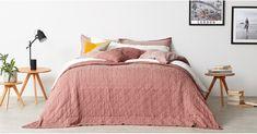 Pink Bed Linen, Pink Bed Sheets, Pink Bedspread, Yellow Bedding, Bedding Sets, Home Bedroom, Bedroom Decor, Bedroom Modern, Pastel Pink