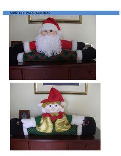 mas-muecos-navideos-11070567 by TALLER MUÑECOS NAVIDEÑOS via Slideshare Grinch, Christmas Stockings, Christmas Ornaments, Doll Patterns, Elf On The Shelf, Holiday Decor, Home Decor, Youtube, Ideas