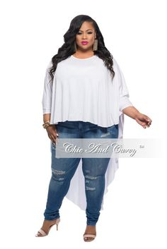 Plus Size Short Sweater Dress with Cutouts in Grey – Chic And ...