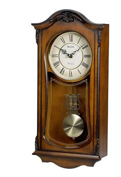 Bulova Cranbrook Old World Clock, Walnut Finish