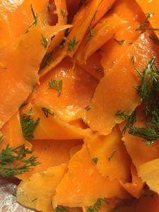 Carrot 'Smoked Salmon' Lox by notetoiris #vegan