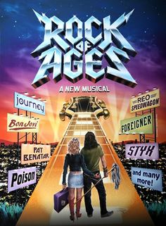 Rock of Ages, el musical, Broadway, New York.