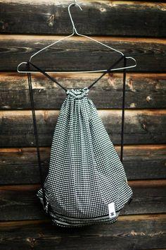 Bandana gymbag in black Old Clothes, Bandana, Drawstring Backpack, Lifestyle, Fabric, Bags, Decor, Fashion, Tejido