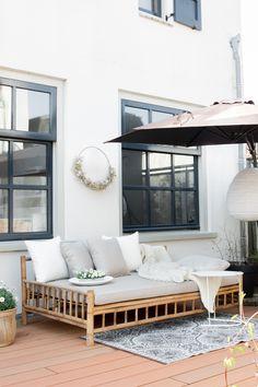 Bamboo Bed Frame, Bamboo Sofa, Bamboo Furniture, Garden Furniture, Furniture Decor, Furniture Design, Outdoor Furniture, Outdoor Decor, Tropical Beach Houses