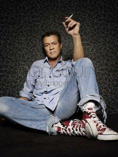 . Eddy Van Halen, Alex Van Halen, Wolfgang Van Halen, Van Halen 5150, Van Hagar, David Lee Roth, Just Beautiful Men, Heavy Metal Bands, Music Photo
