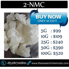 Buy 100% quality 2-NMC online at http://www.theresearchchemicals.com/best-seller-6/2-nmc.html Hurry up Now, Only 10 left!!!