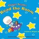 Vowel Teams Read the Room is a fun and active way to practice the ai, oa, ea, and ee vowel teams. Cut, laminate, and place words throughout the ro...