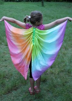 Butterfly Wings Costume, Pink and Purple, Pure Silk Fairy Wings Diy Costumes, Halloween Costumes, Butterfly Wings Costume, Fantasy Play, Fairy Tea Parties, Act For Kids, Butterfly Birthday, Midsummer Nights Dream, Fairy Wings