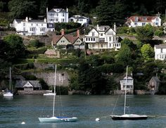 It is the second year the Dorset town has been named as the most expensive in Britain. Above, a seven-bedroom cliff-side house which sold for £2.7million