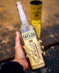 Taylor Tuesday with EH Taylor Straight Rye Rye Whiskey, Dark Roast, Coffee Roasting, Sweet And Spicy, Distillery, Vodka Bottle, Tuesday, Beverages