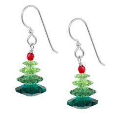 Santa Claus is Coming to Town Earrings   Fusion Beads Inspiration Gallery