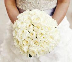 Garden Rose bridal bouquet #studioag #studioagdesign Photo by Fig Media http://www.figweddings.net/