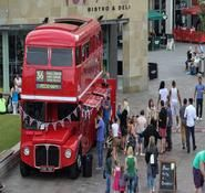 British and Royal themed event ideas. Double decker bus hire. Our bus bar is available for hire in London and across the UK.