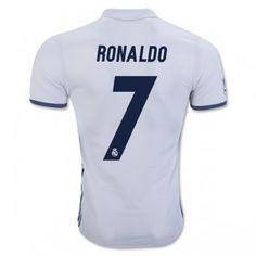 Real Madrid 16-17 Cristiano Ronaldo 7 Hemmatröja Kortärmad #Fotbollströjor