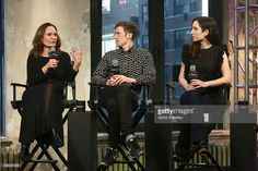 Actress Beth Grant, filmmaker Daryl Wein and actress Zoe Lister-Jones attend AOL BUILD Series: 'Consumed' at AOL Studios on November 20, 2015 in New York City.