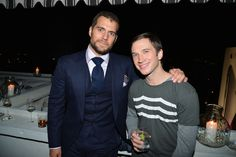 Henry Cavill at The Golden Globes Party at Chateau Marmont