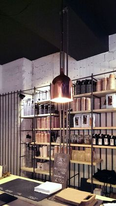 Bear Market Coffee by VAV architects http://www.feeldesain.com/steel-reinforcing-bars-bear-market-coffee.html
